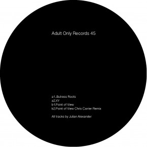 Release | Adult Only | #45 | Julian Alexander - Butress Roots