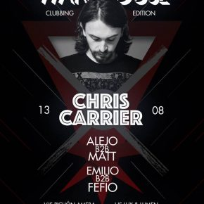 The Warehouse presents Chris Carrier @ The Warehouse, Montevideo / Uruguay August 13th sat 2016