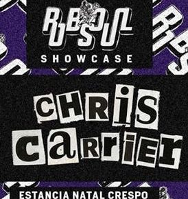 Phil Weeks & Chris Carrier @ RIOT, Córdoba July 22 fri, @ The Bow, Buenos Aires July 23 sat 2016
