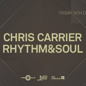Ommseries Members Club 2016 feat Chris Carrier & Rhythm&Soul @ Hotel OMM, Barcelona, October 14th fri 2016