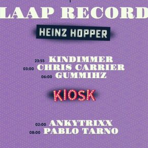 Claap Night: GummiHz invites Chris Carrier @ KaterBlau, Berlin, September 2nd fri 2016