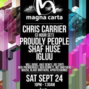 Magna Carta Summer Closing Party @ Fire, London September 24th sam 2016