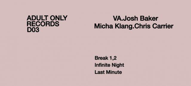 Adult Only D | #03 | Various | Josh Baker - Micha Klang - Chris Carrier